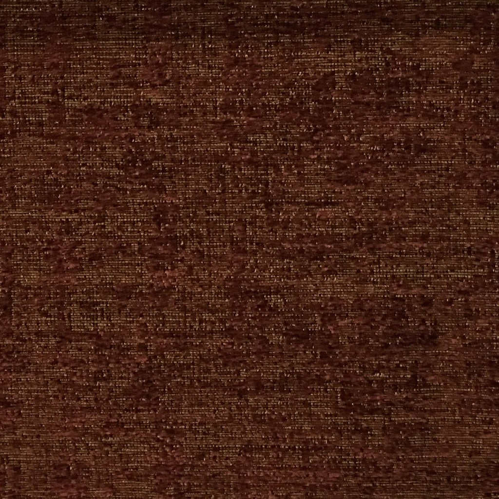 Splendid - Basic Textured Chenille Fabric Upholstery Fabric by the Yard - Available in 17 Colors - Henna - Top Fabric - 12