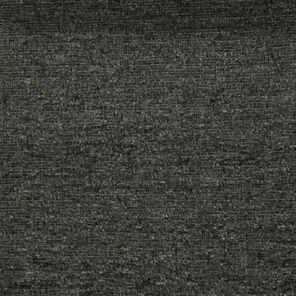 Splendid - Basic Textured Chenille Fabric Upholstery Fabric by the Yard - Available in 17 Colors - Slate - Top Fabric - 17