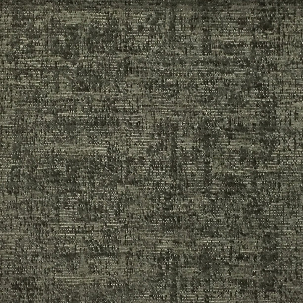Splendid - Basic Textured Chenille Fabric Upholstery Fabric by the Yard - Available in 17 Colors - Steel - Top Fabric - 8