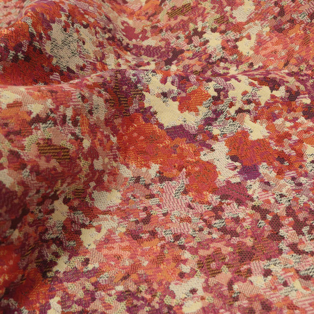 Sunset Garden - A Beautiful Designer Pattern Jacquard - Upholstery Fabric