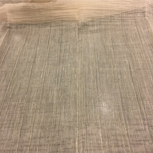 "Saltair - 110"" Organza Fabric Window Curtain Drapery Fabric by the Yard - Linen - Top Fabric"