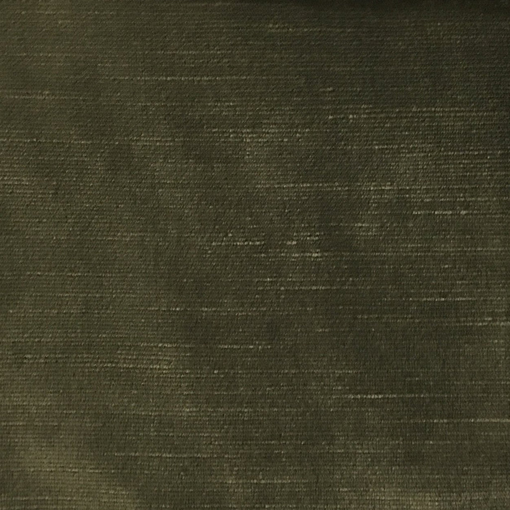 Waterloo - Slubbed Plush Velvet Upholstery Fabric by the Yard - Available in 15 Colors - Plantation - Top Fabric - 11