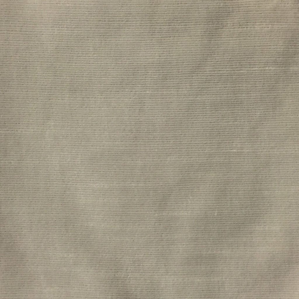Waterloo - Slubbed Plush Velvet Upholstery Fabric by the Yard - Available in 15 Colors - Seashell - Top Fabric - 8