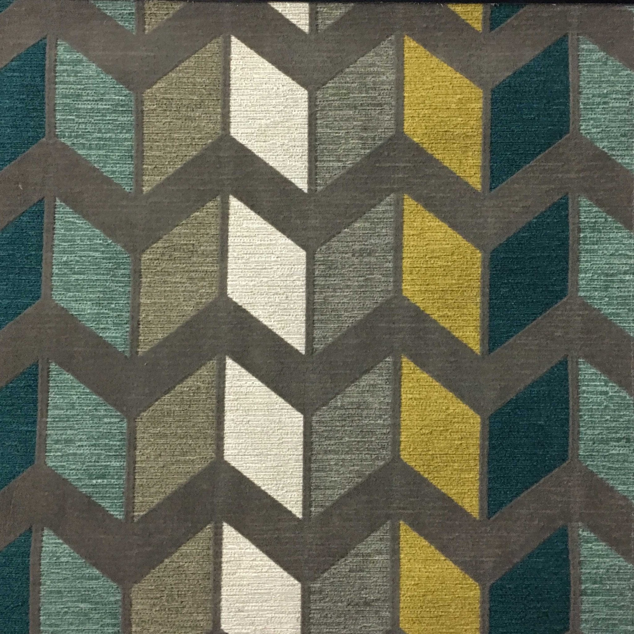 Astounding Details About Ziba Chevron Pattern Modern Texture Cotton Blend Upholstery Fabric By The Yard Interior Design Ideas Inamawefileorg