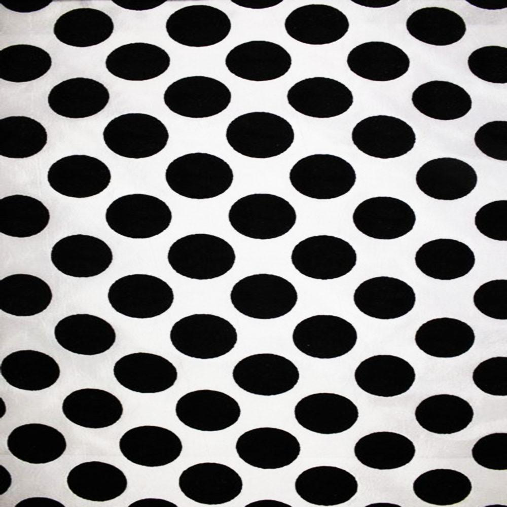 Astoria Collection - Black and White Taffeta Fabric by the Yard - Available Patterns: 42 - Pattern 29 - Top Fabric - 29