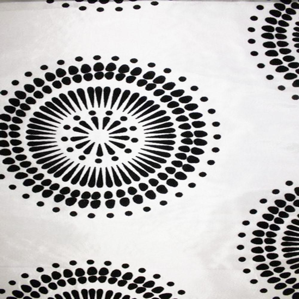 Astoria Collection - Black and White Taffeta Fabric by the Yard - Available Patterns: 42 - Pattern 30 - Top Fabric - 30