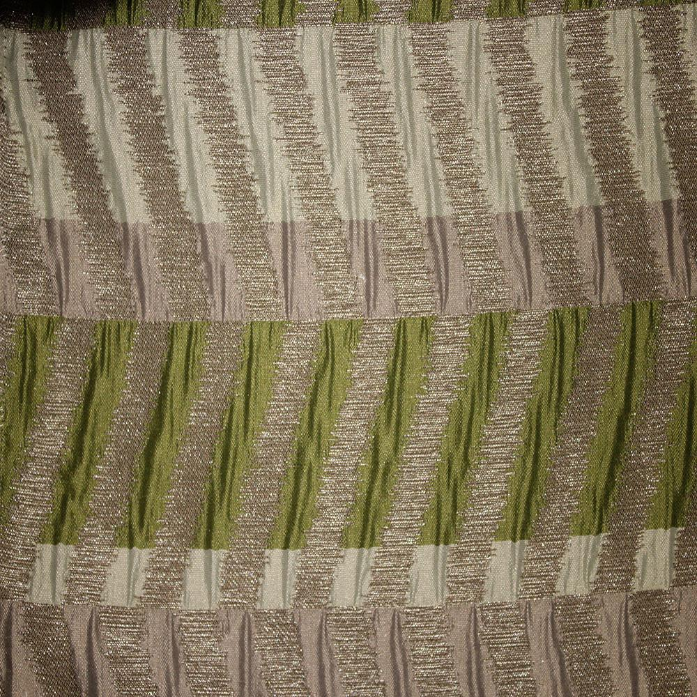 Clayton - Jacquard Fabric Designer Pattern Drapery Fabric by the Yard - Available in 9 Colors - Grass - Top Fabric - 8