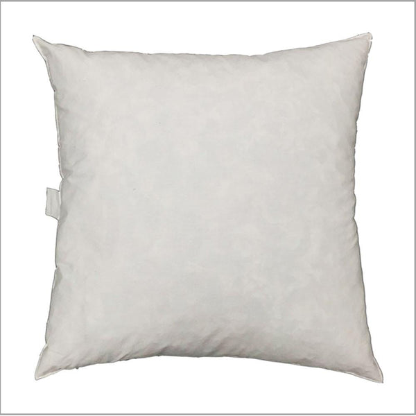 "Feather Down Fiber Pillow Insert 21"" -  - Top Fabric"