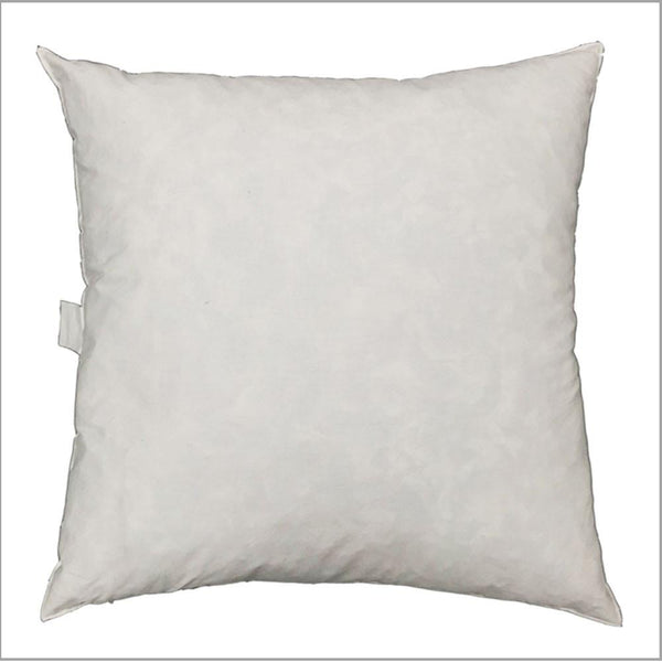 "Feather Down Fiber Pillow Insert 24"" -  - Top Fabric"