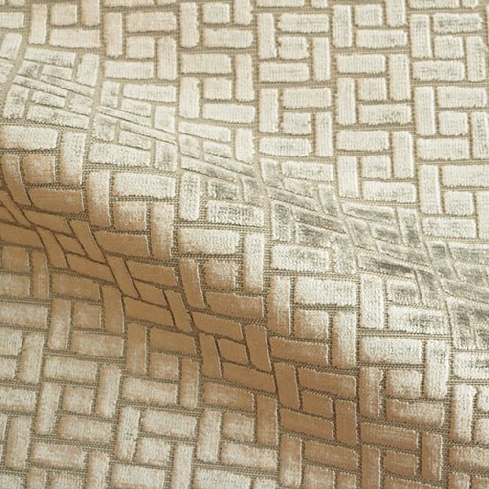Westfield - Geometric Pattern Burnout Velvet Upholstery Fabric by the Yard - Available in 16 Colors