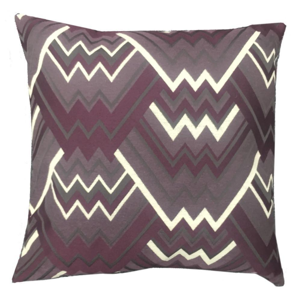 Maze Feather Down Pillow - Colors: 7 - Purple - Top Fabric - 6