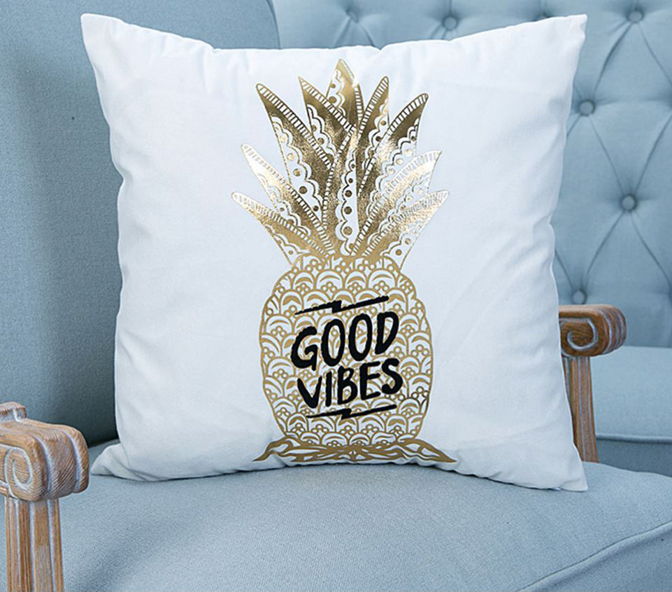 PINE GOOD VIBES CUSHION COVER