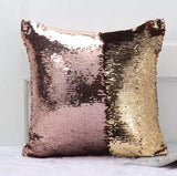 SEQUIN REVERSIBLE PILLOW COVER