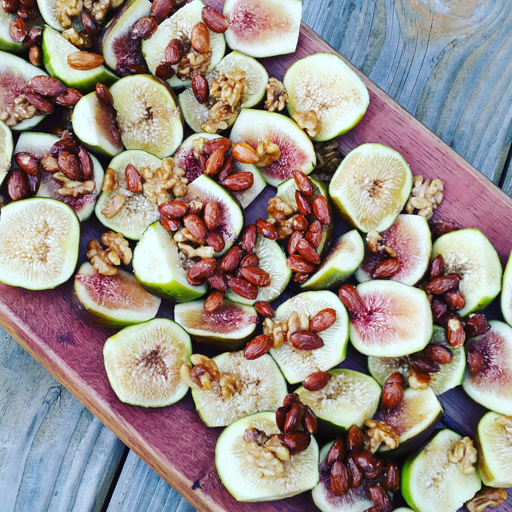 A Fig Inspired Platter Feast + a Recipe for Maple Salted Nuts