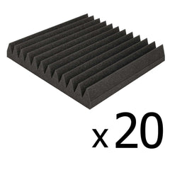 12 Teeth Wedge 30 x 30cm Acoustic Foam