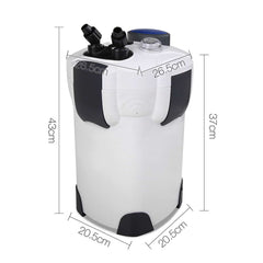 1400L/H Aquarium External Filter UV Light