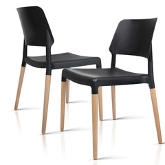 Set of 4 Stackable Dining Chair