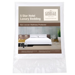 Waterproof Non-Woven Mattress Protector - King