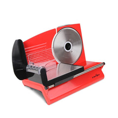 150W  Meat Slicer with Stainless Steel Blade - Red or Silver