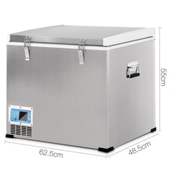 2 in 1 Portable Fridge & Freezer 70L