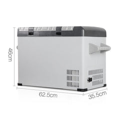 2 in 1 Portable Fridge & Freezer 45L