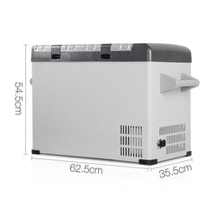 2 in 1 Portable Fridge & Freezer 55L