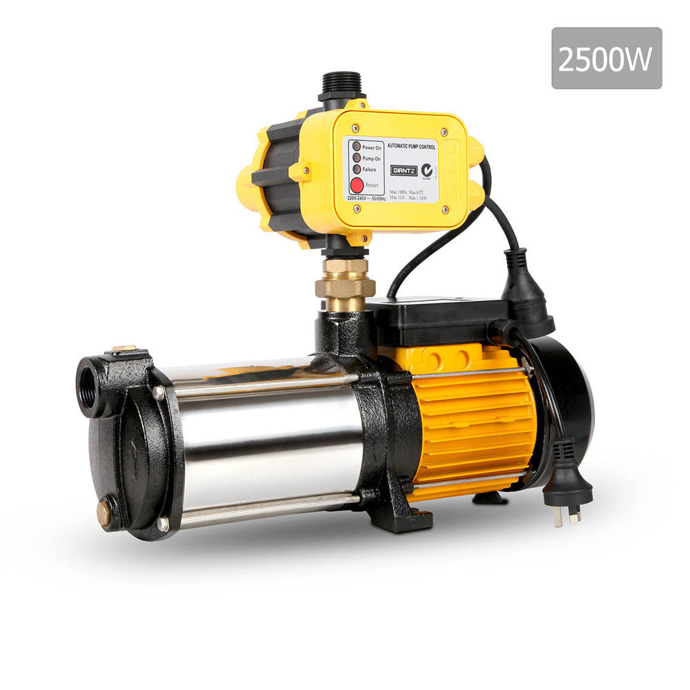 Weatherproof 2500W 9,000L/H Flow Rate Pressure Pump
