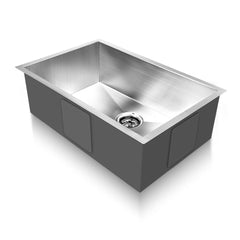 Stainless Steel Kitchen Laundry Sink 700 x 450mm