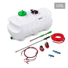 100L 80 PSI ATV Weed Sprayer with 3 Nozzles