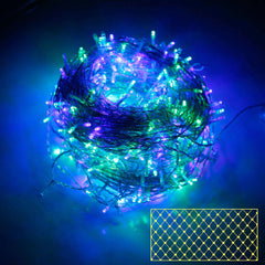 400 LED Christmas Net Lights Multi Colour