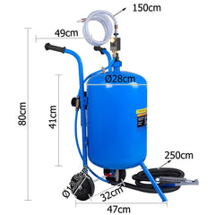 100lb Portable Soda Pressure Air Sandblaster