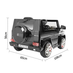 Kids AMG Ride on Car Electric Toy w/ Remote Control Kid Toys 12v Black New