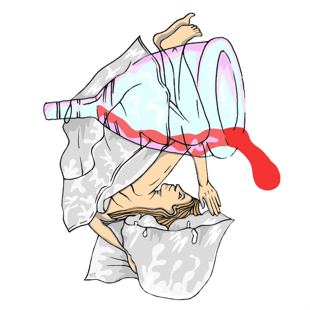 Menstrual cup dangers lunette for A diva cup