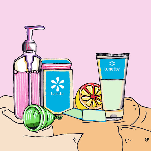 How To Clean Your Menstrual Cup – Lunette