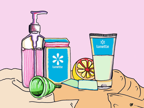 cleaning your menstrual cup