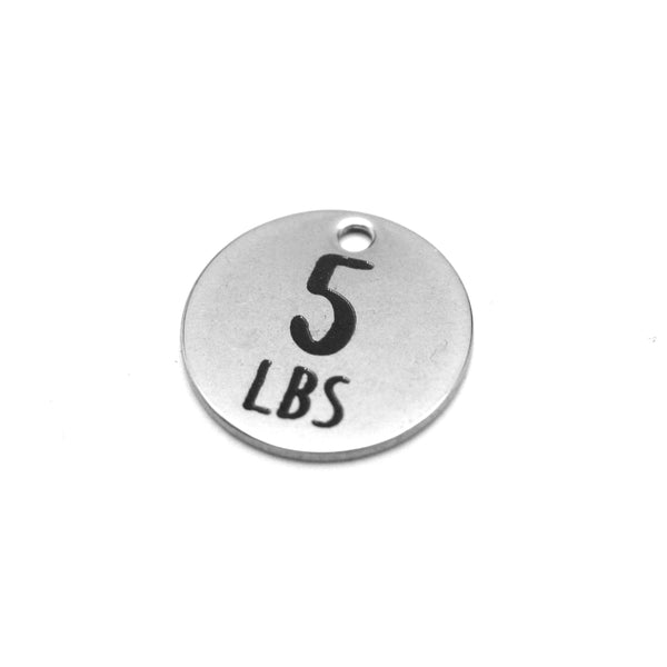 Weight Loss Goal Charm