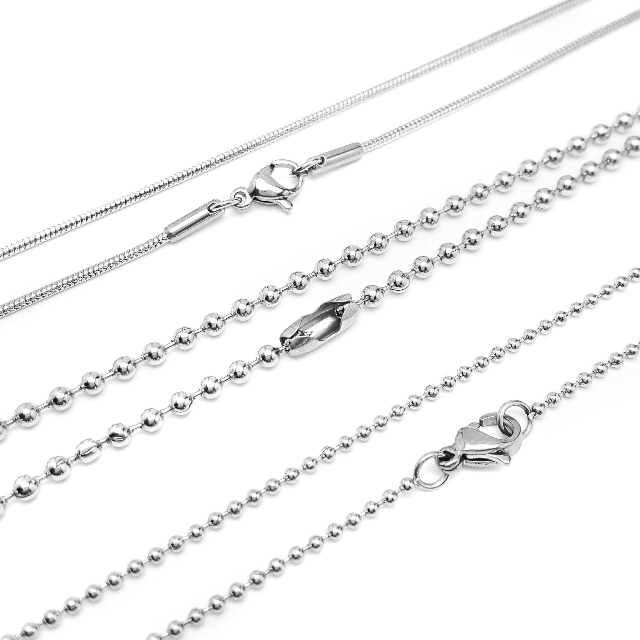 CREATE YOUR OWN Necklace - Blank Stainless Steel Necklace