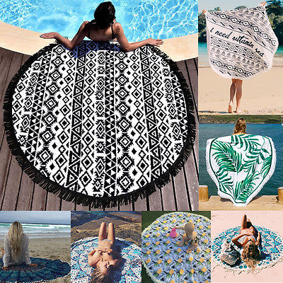 Beach Towel Yoga Picnic Mat