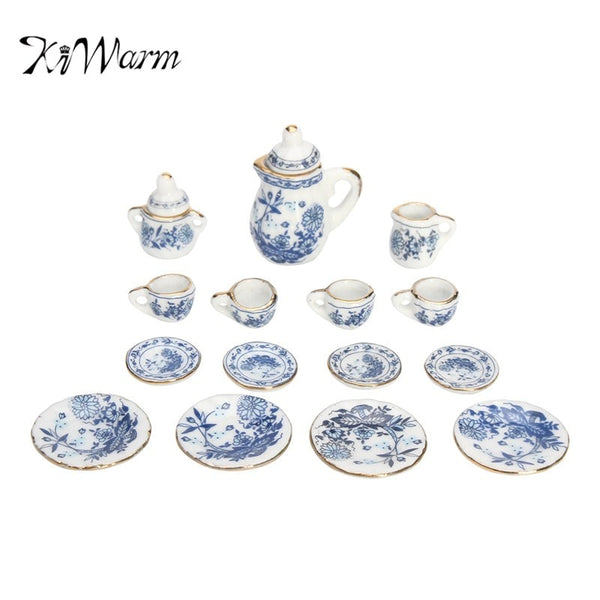 Miniature Ceramic Tea Set (FOR KIDS!)