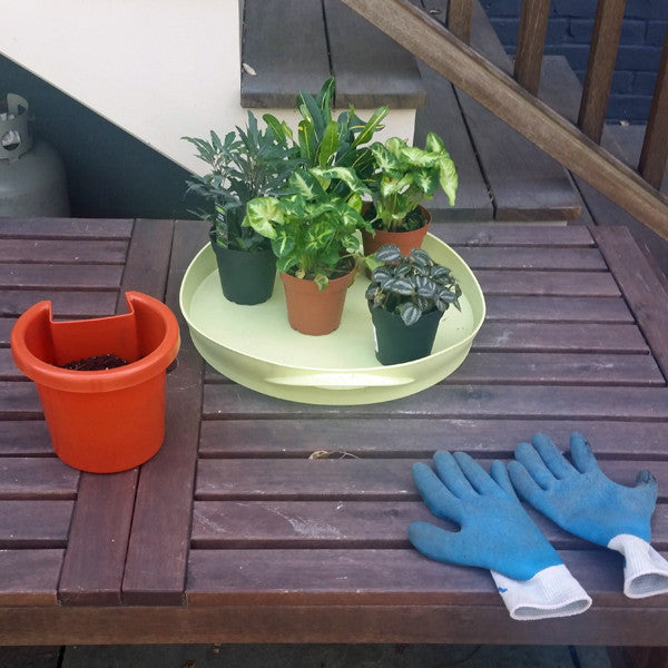 Step 1 to install the Hugger planter: gather your materials and instruments