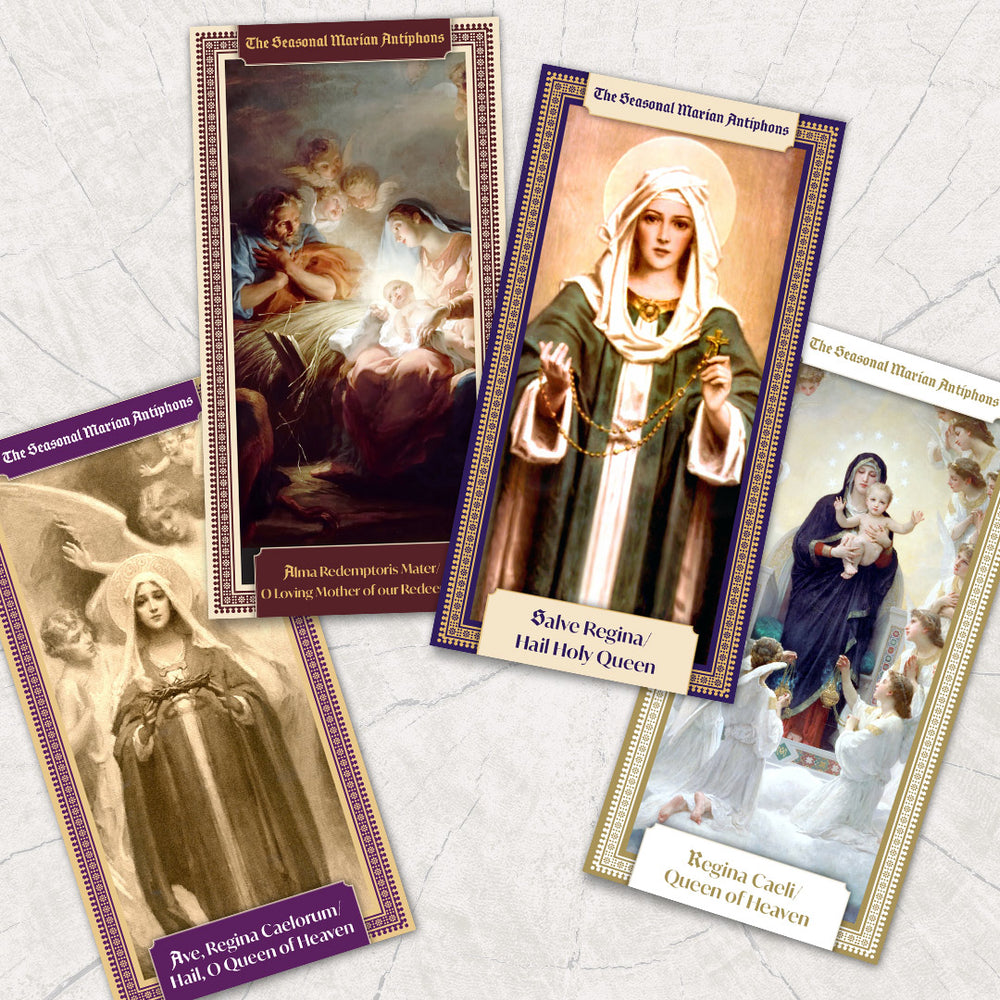 Regina Caeli Holy Card