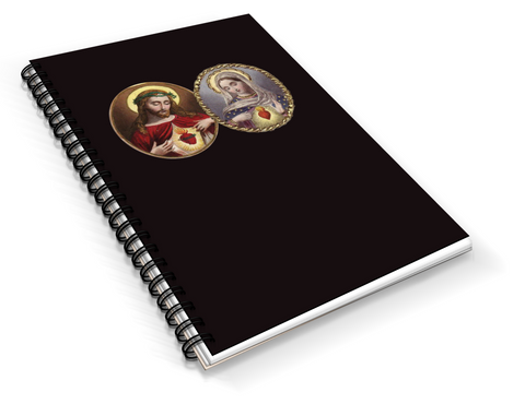 Two Sacred Hearts Writing Journal