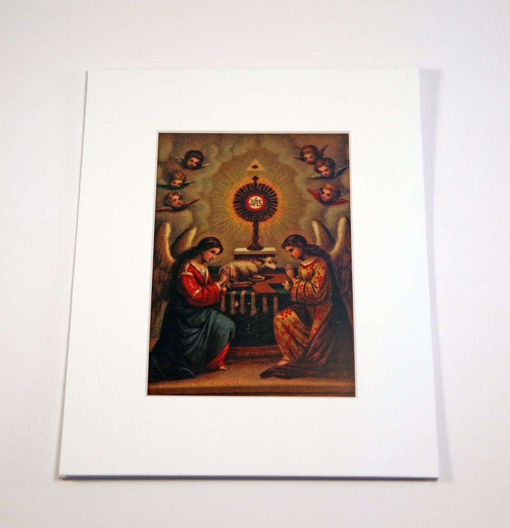 Most Holy Sacrament of the Altar Print 5X7