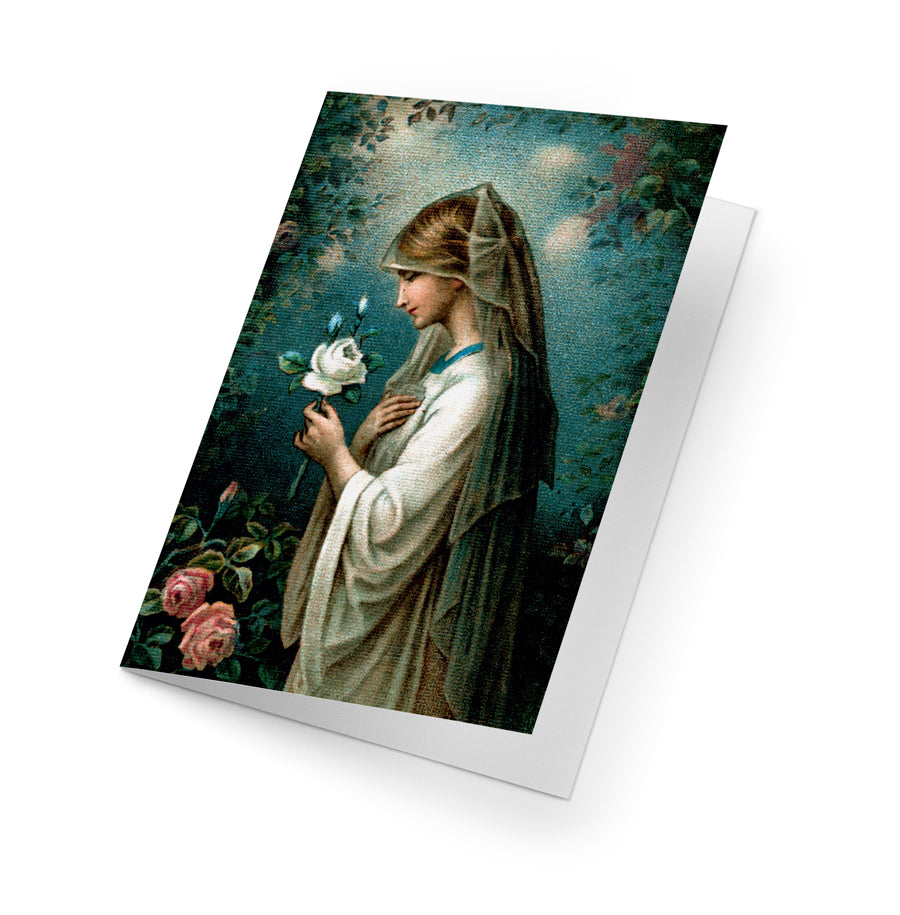 Our Lady of the Mystical Rose Correspondence Cards