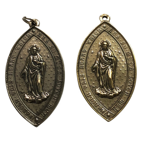 Association in Honor of the Sacred Heart of Jesus Large Medal