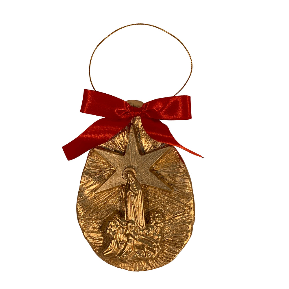 Our Lady of Fatima/Star Ornament