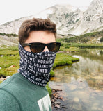 Our Father Face/Neck Gaiter Mask, NEW