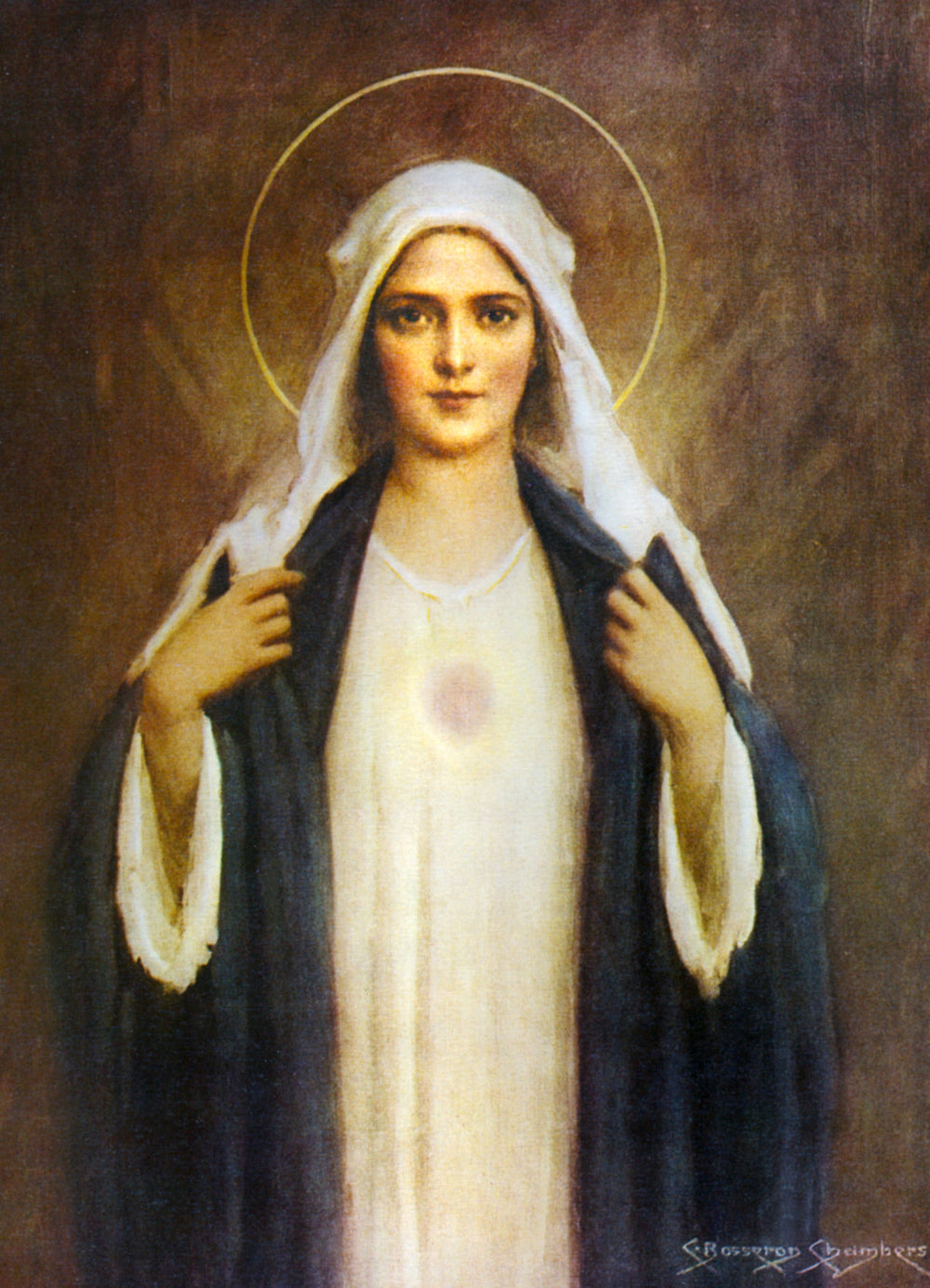 Immaculate Heart of Mary - Chambers Print 5X7