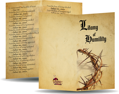 Litany of Humility, new for 2019