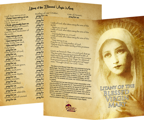 Litany of the Blessed Virgin Mary, NEW